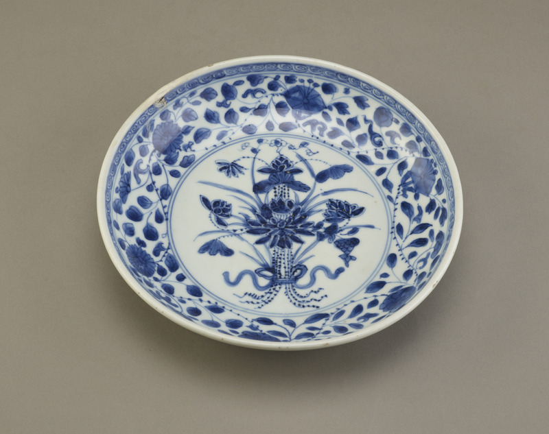 Dish, one of a pair with F1992.34.1