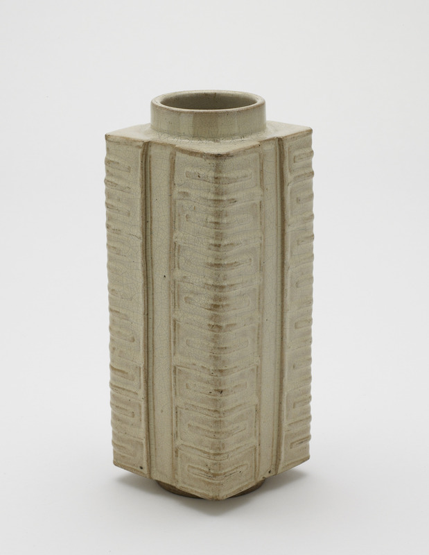 Vase in form of cong