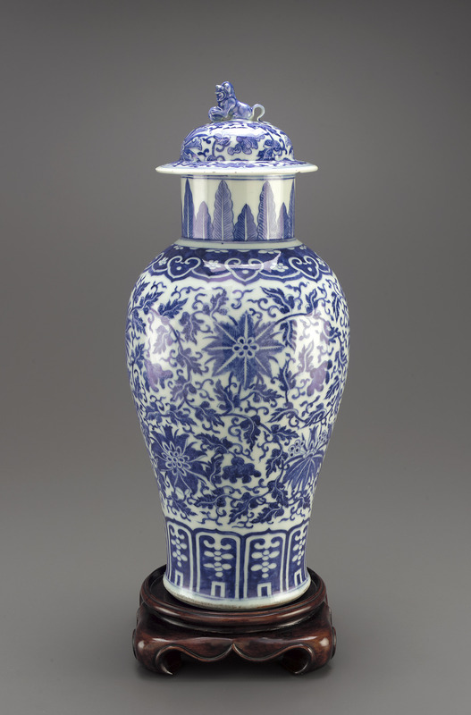 Jar with lid, one of a pair with F2004.37.1a-c.