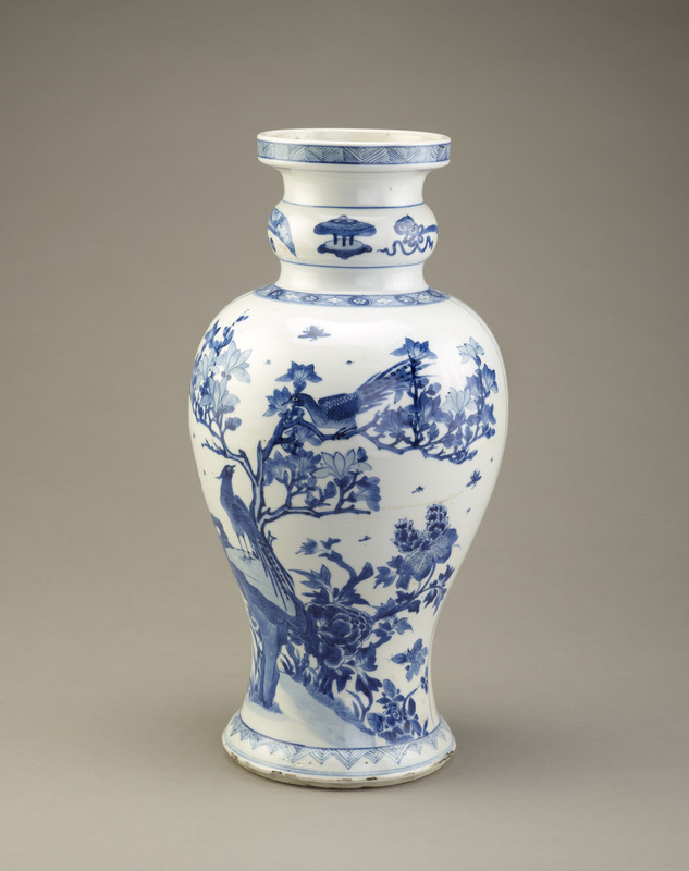 Vase, one of a pair with F1993.8.1