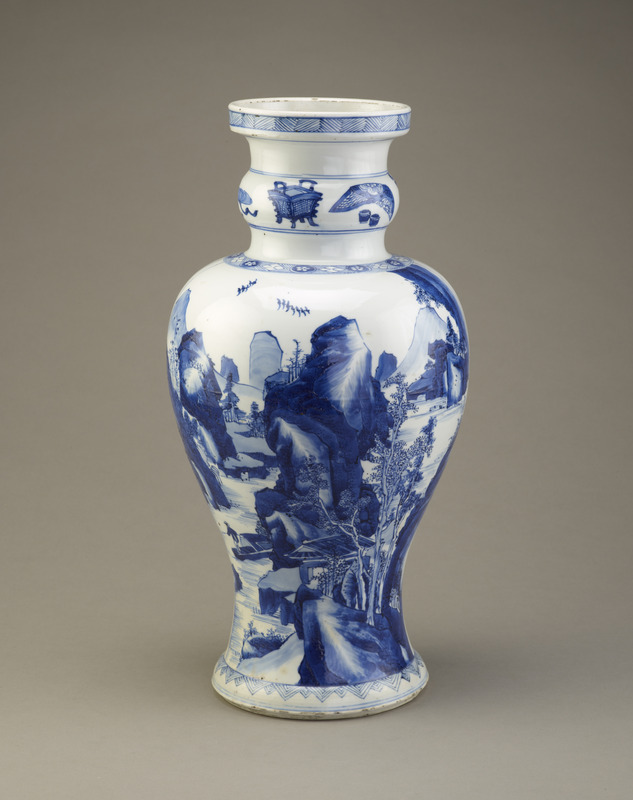 Vase, one of a pair with F1993.8.2