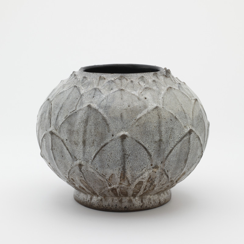 Vase in lotus bud form (neck cut down)