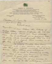 Dikran G. Kelekian to Charles Lang Freer, April 5, 1906