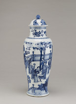 Baluster vase, from a five-piece garniture (F1980.190--194)