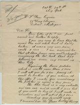 G. Camas to Charles Lang Freer, June 6, 1906