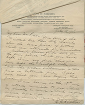 Letter from Dikran G. Kelekian to Charles Lang Freer, July 13, 1906