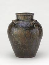 Tea-leaf storage jar