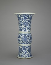Vase, one of a pair with F1992.13.2