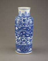 Vase, one of a pair with F1991.59