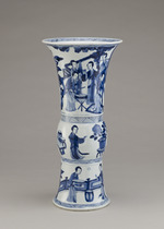 Beaker-shaped vase, from a five-piece garniture (F1980.190-.194)