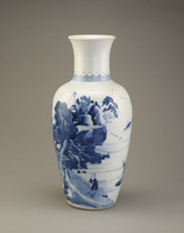 Vase, one of a pair with F1982.21