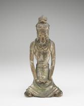 Figure of a bodhisattva
