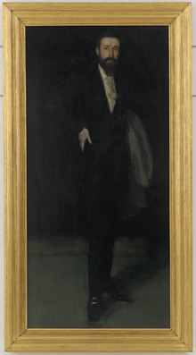'Arrangement in Black: Portrait of F.R. Leyland'